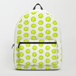 Tennis ball. Pattern. Backpack