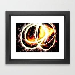 Sparkler Stunner Framed Art Print