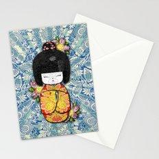 Horror Vacui - Kokeshi01 Stationery Cards