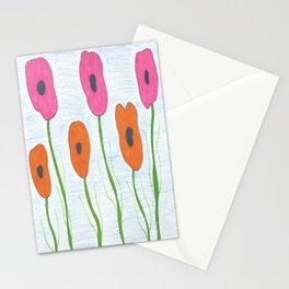 Poppies: Toward the Sky Stationery Cards