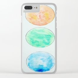 Orbs Clear iPhone Case
