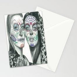 Meryl Streep and Lindsay Lohan  Stationery Cards