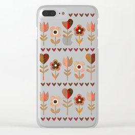 LOVE GARDEN - VINTAGE Clear iPhone Case