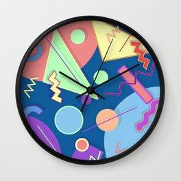 Memphis #44 Wall Clock