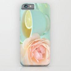 Tea Rose Slim Case iPhone 6s