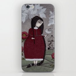 Winterbird, or Hope is a Thing With Feathers iPhone Skin