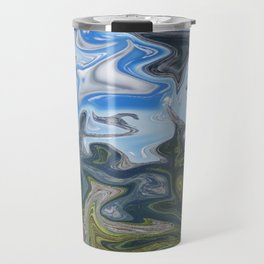 Skies from Above Travel Mug