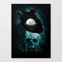 """The Tell-Tale Heart"" - Edgar Allan Poe Series Canvas Print"