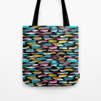 stripes Tote Bags featuring Stripes by Meryl Pardoen