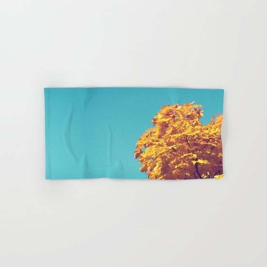 Golden Tree Hand & Bath Towel