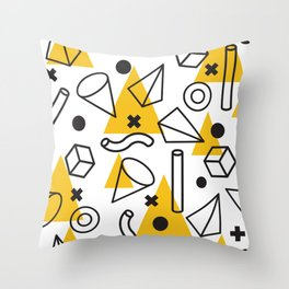 Geometric Pattern 6 Throw Pillow