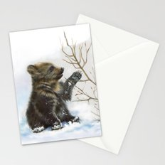 bear cub Stationery Cards