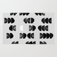 minimalism Area & Throw Rugs featuring Minimalism 13 by Mareike Böhmer