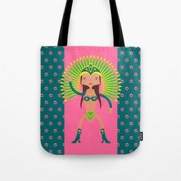 VIDA Tote Bag - Carnevale Tote by VIDA zPG04lDDuC