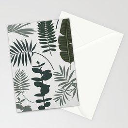 Botanical leaves Stationery Cards