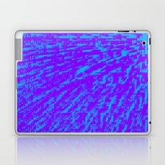 Purple Blue Abstract Laptop & iPad Skin