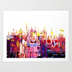 SMALL WORLD 011 Art Print
