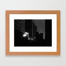 Downtown (Journey to School Series, 2003) Framed Art Print