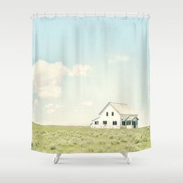 A Simple Life Shower Curtain