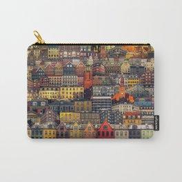 Copenhagen Facades Carry-All Pouch