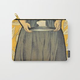 13,000px,500dpi-Adolphe Willette - Cocoa Van Houten - Digital Remastered Edition Carry-All Pouch