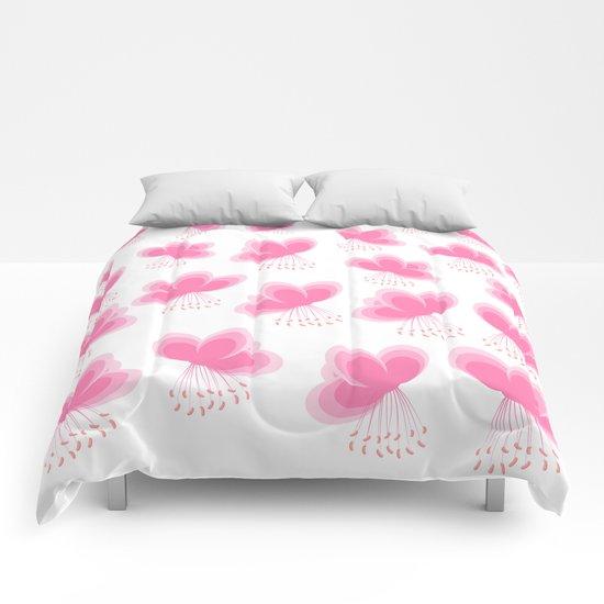 Cherry Blossom - In Memory of Mackenzie Comforters