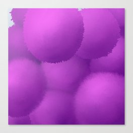 Floating Allium Flowers Canvas Print