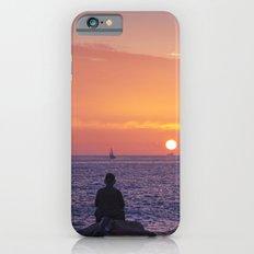 Man Enjoying Sunset iPhone 6s Slim Case