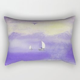 Courage And Fortitude Rectangular Pillow