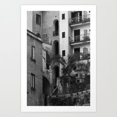 Variety in architecture Art Print