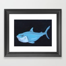 Toy Shark Framed Art Print