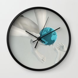 Parent and Child for a Good Role Model Wall Clock