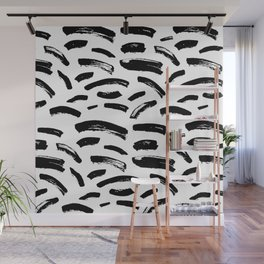 Foundry Abstract Brush Strokes 2 Wall Mural