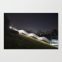 Covered Stairs Canvas Print