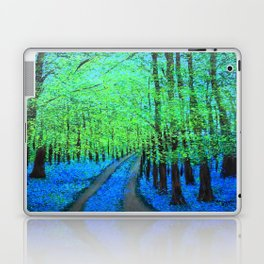 Bluebell woods  Laptop & iPad Skin