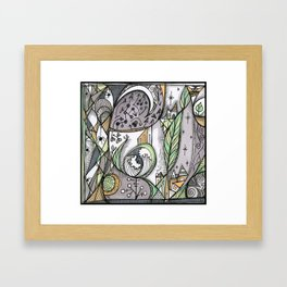 The Story Is Different Framed Art Print