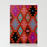 bohemian Stationery Cards featuring bohemian by spinL