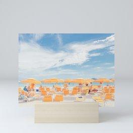 sardinia italy beach scene Mini Art Print
