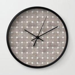 ZHI RIAD GREY Wall Clock