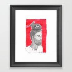 Nest-head Framed Art Print