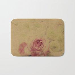 Victorian Flowers Bath Mat