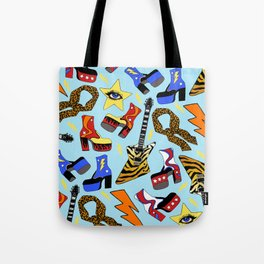 Glam Rock Starter Pack Print Tote Bag