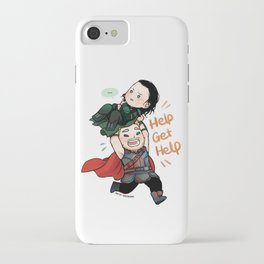 Get Help Brother! iPhone Case