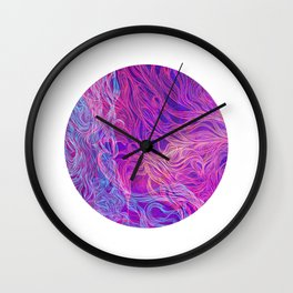 My World Is Yours Wall Clock