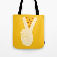 Peace-za Tote Bag