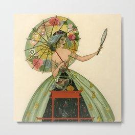 """The Fish Bowl"" by Umberto Brunelleschi Metal Print"