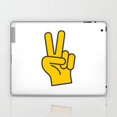 Hand Gesture - Peace Laptop & iPad Skin