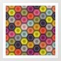 crochet honeycomb by sharonturner