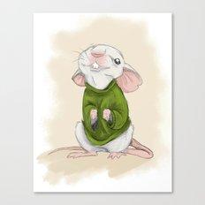 Stuart Little Canvas Print