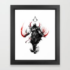 assassin's creed ezio Framed Art Print